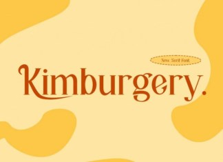 Kimburgery Serif Font