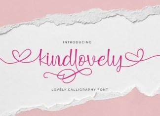 Kindlovely Calligraphy Font