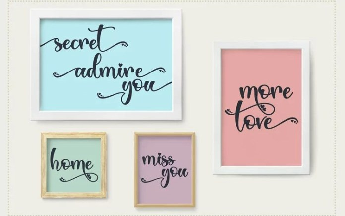 Love Sunday Calligraphy Font