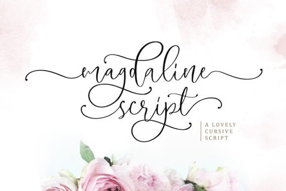 Magdaline Calligraphy Font