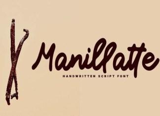 Manillatte Script Font