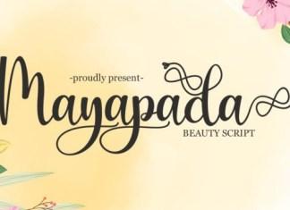 Mayapada Calligraphy Font