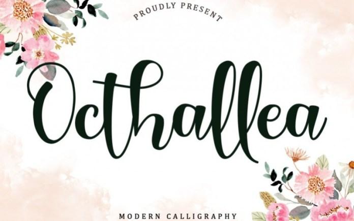 Octhallea Script Font