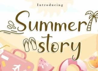Summer Story Script Font