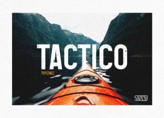 Tactico Display Font