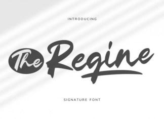 The Regine Script Font