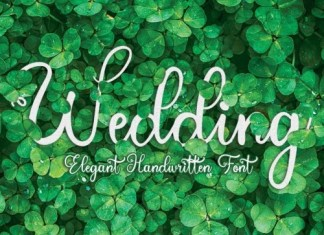 Wedding Script typeface