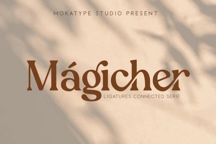 Magicher Serif Font