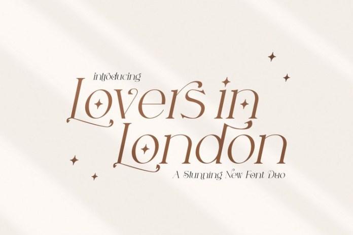 Lovers in London Font
