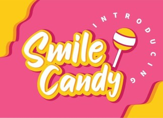 Smile Candy Brush Font