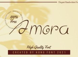 Amora Handwritten Font