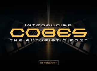 Cobes Display Font