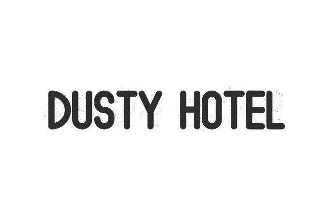 Dusty Hotel Display Font