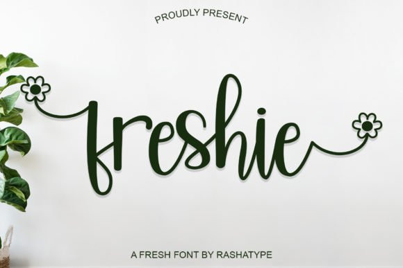 Freshie Calligraphy Font