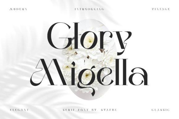 Glory Migella Serif Font