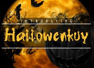 Hallowenkuy Display Font