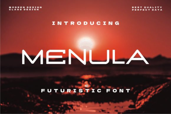 Menula Display Font