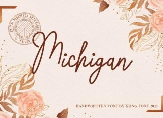 Michigan Handwritten Font