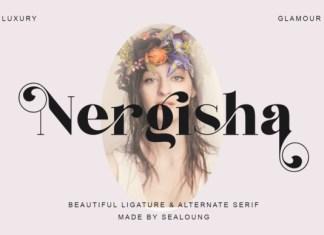 Nergisha Serif Font