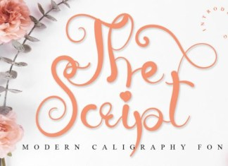 The Script Calligraphy Font