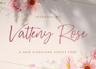 Vatteny Rose Script Font