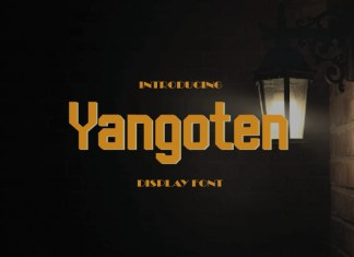 Yangoten Display Font