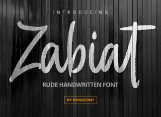 Zabiat Script Font