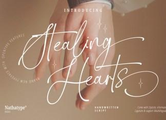 Stealing Hearts Handwritten Font
