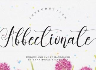 Affectionate Script Font