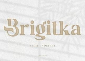 Brigitka Serif Font
