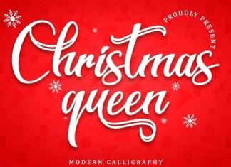 Christmas Queen Calligraphy Font