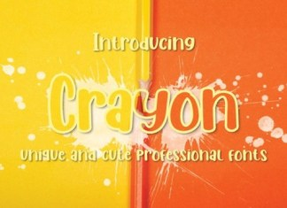 Crayon Display Font