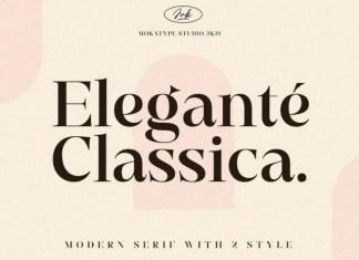 Elegante Classica Serif Font