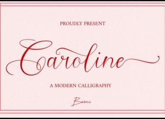 Caroline Calligraphy Font