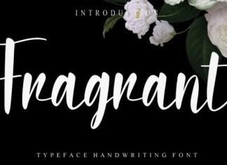 Fragrant Calligraphy Font