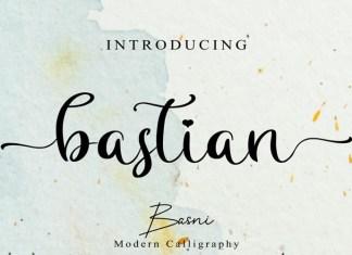 Bastian Calligraphy Font