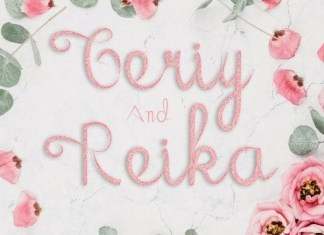 Geriy and Reika Calligraphy Font