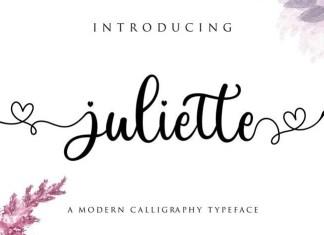 Juliette Calligraphy Font