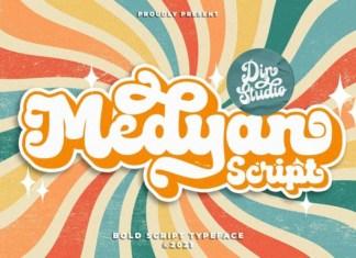 Medyan Script Font
