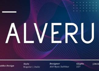 Alveru Sans Serif Font