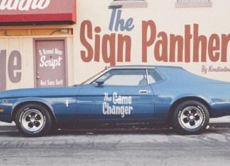 Sign Panthers Display Font