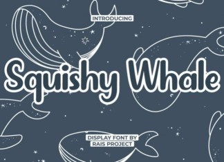 Squishy Whale Font