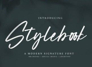 Stylebook Script Font
