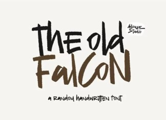 The Old Falcons Brush Font