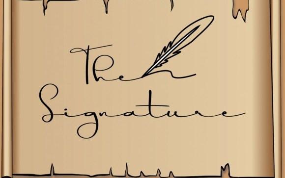 The Signature Script Font
