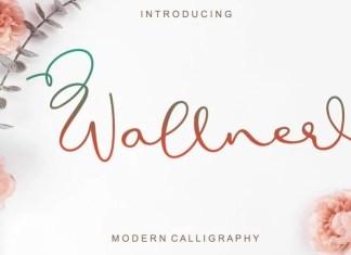 Wallner Calligraphy Font