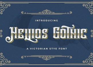 Hellios Gothic Blackletter Font