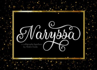Naryssa Calligraphy Font
