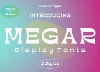 Megar Display Font