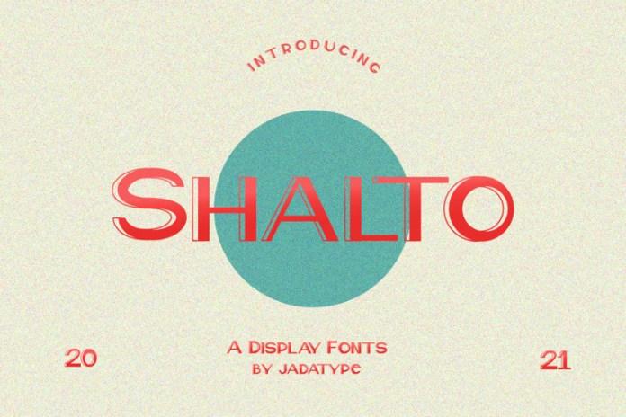 Shalto Sans Serif Font